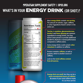 Thumbnail of Energy Drink infographic