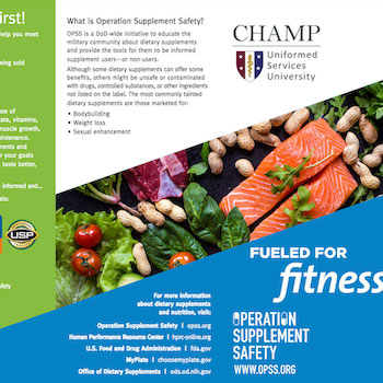 OPSS: Fueled for Fitness brochure
