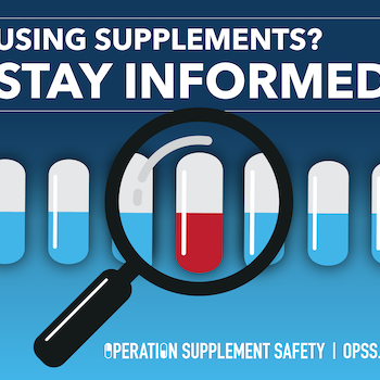 Using supplements? Stay Informed.