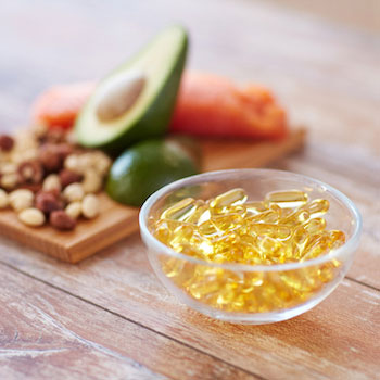 Omega-3 supplements and omega-3 rich foods