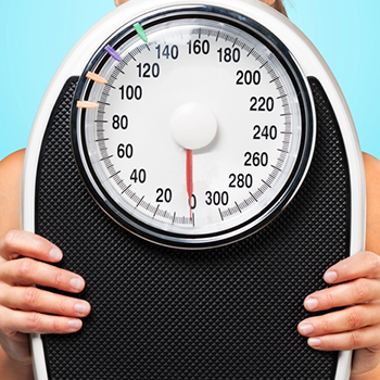 Image of a scale for weight loss